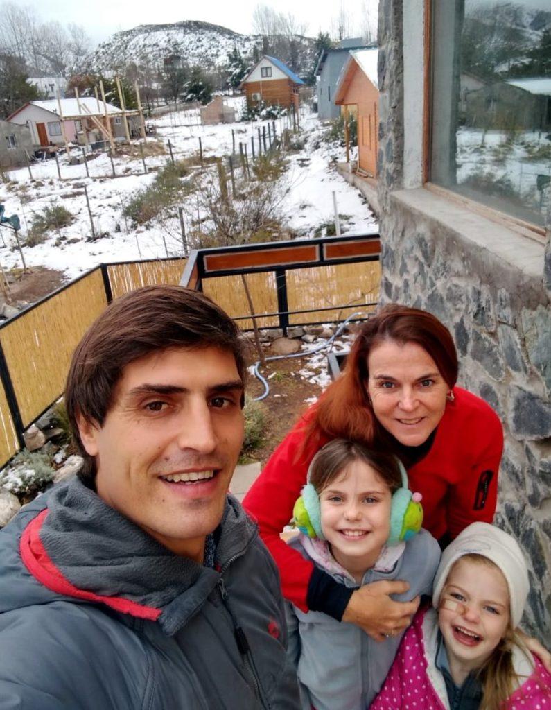 Cabañas Las Espuelas en Potrerillos, a pleno en vacaciones de invierno 2020 3