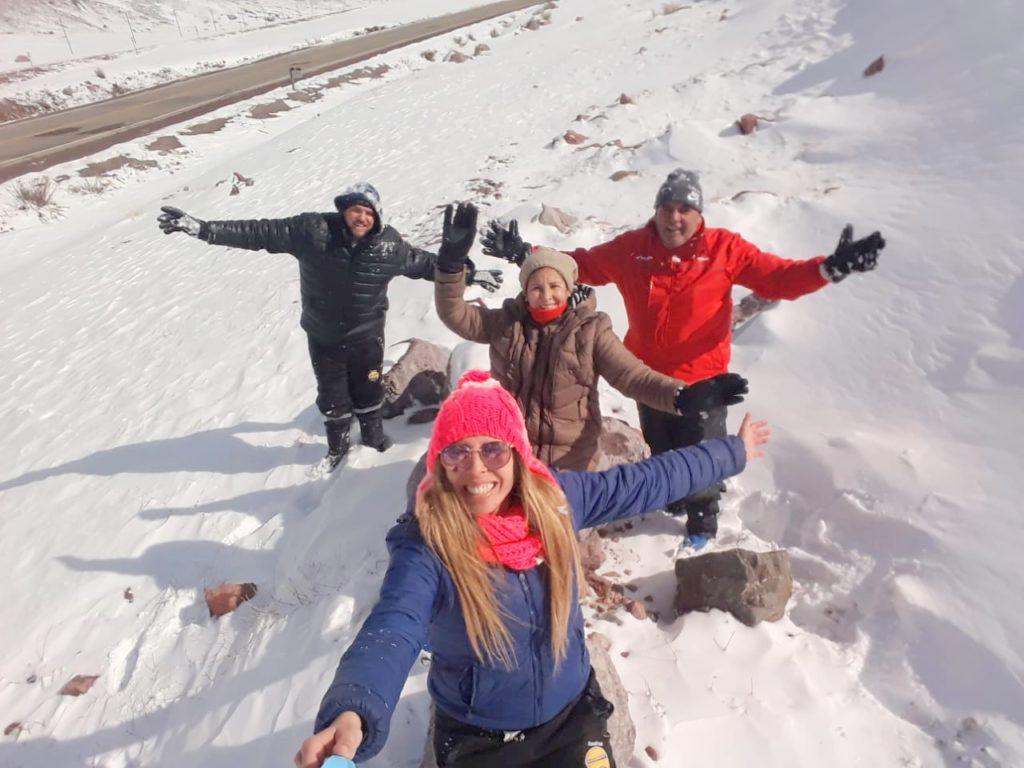 Cabañas Las Espuelas en Potrerillos, a pleno en vacaciones de invierno 2020 1